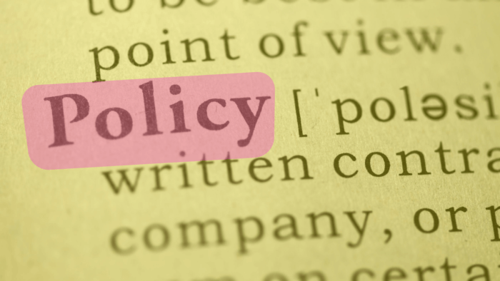 AskAwayHealth Privacy Policy image showing dictionary definition of Policy