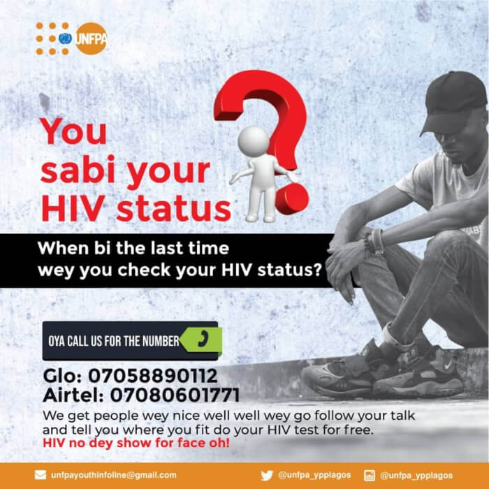 Call for Advice - Know Your HIV Status