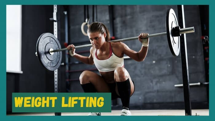 Weight lifting is an important method to eliminate belly fat
