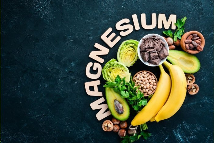What are the benefits of Magnesium Infusions - image showing food sources magnesium