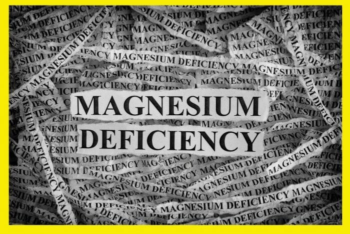 Magnesium deficiency can be treated with Magnesium infusions - text graphic